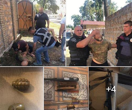 2-8 У Приірпінні чоловік кинув у бік поліцейських дві гранати