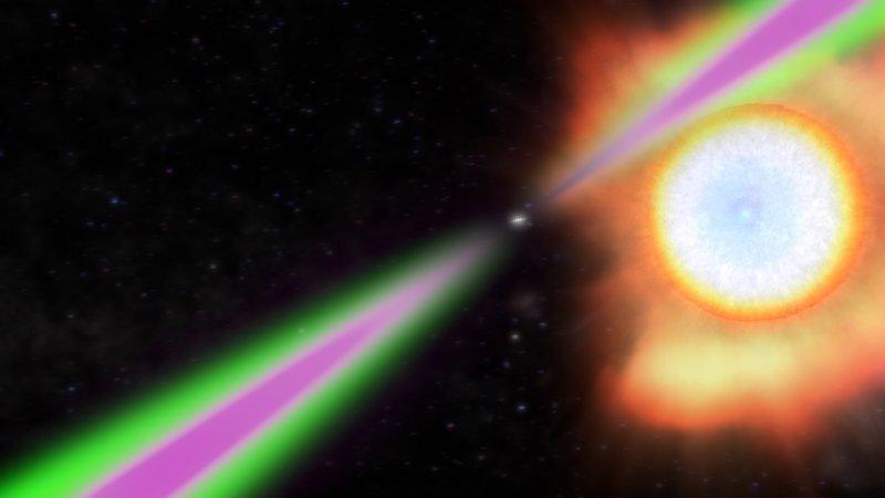 22_pulsar Вчені з'ясували скільки обертів на секунду робить найшвидший пульсар галактики