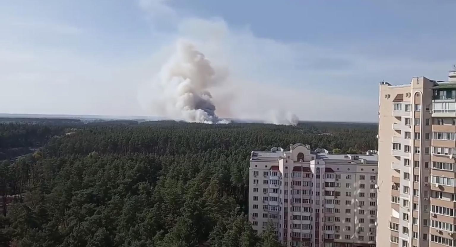 3AD63AA3-1A6C-4952-BBBA-9BDBCB4E35AA В Українці горить ліс за Стугною