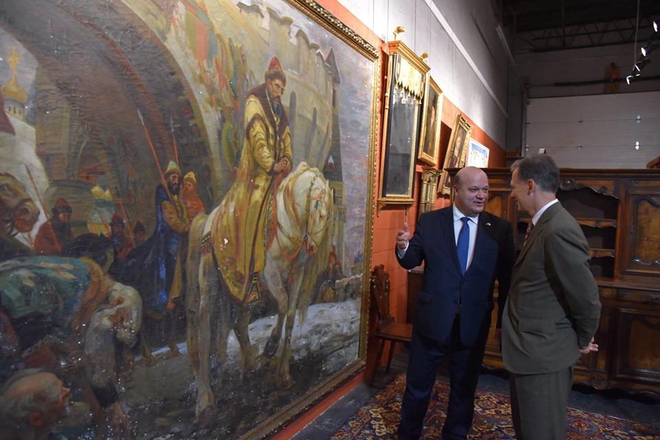 В Україну із США повернули вивезену нацистами картину