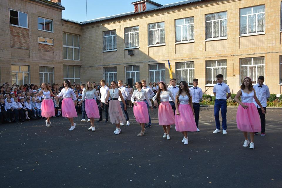 Перший шкільний дзвоник у Миронівці -  - 69629997 502668140521659 4095152511013355520 n