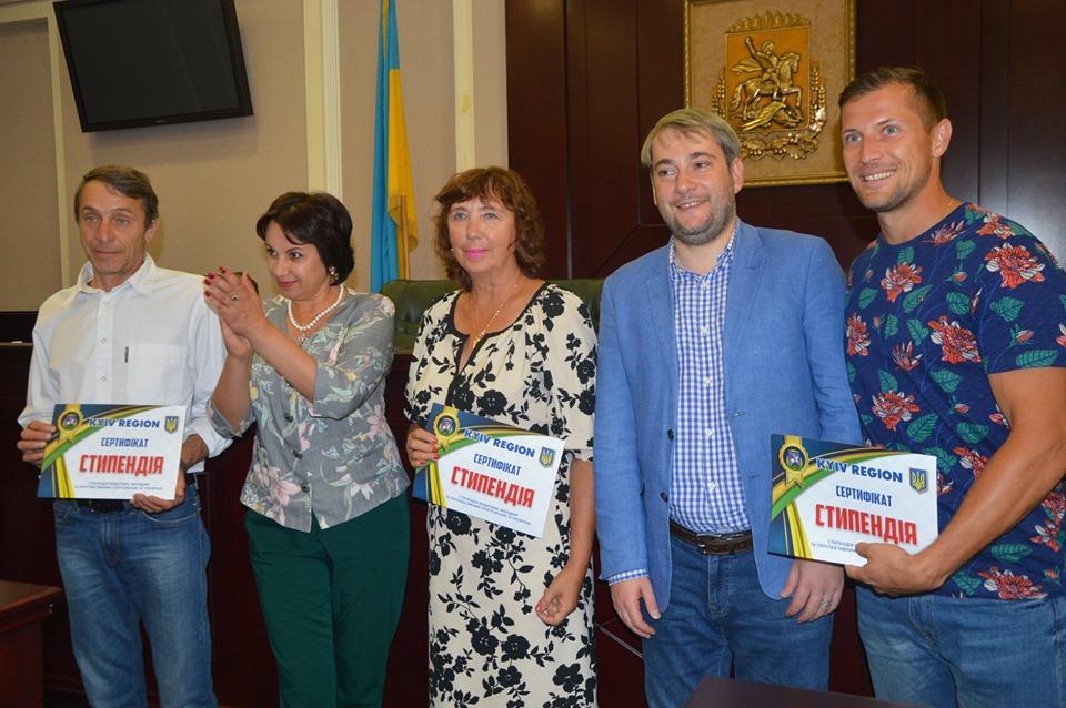 Серед найкращих діячів спорту  Київщини, котрих привітали в КОДА, були й представники Обухівщини -  - 69881541 2137161663258457 7159408017950113792 n