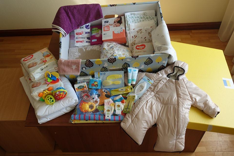 Вміст «пакунка малюка» збільшився до 70 предметів