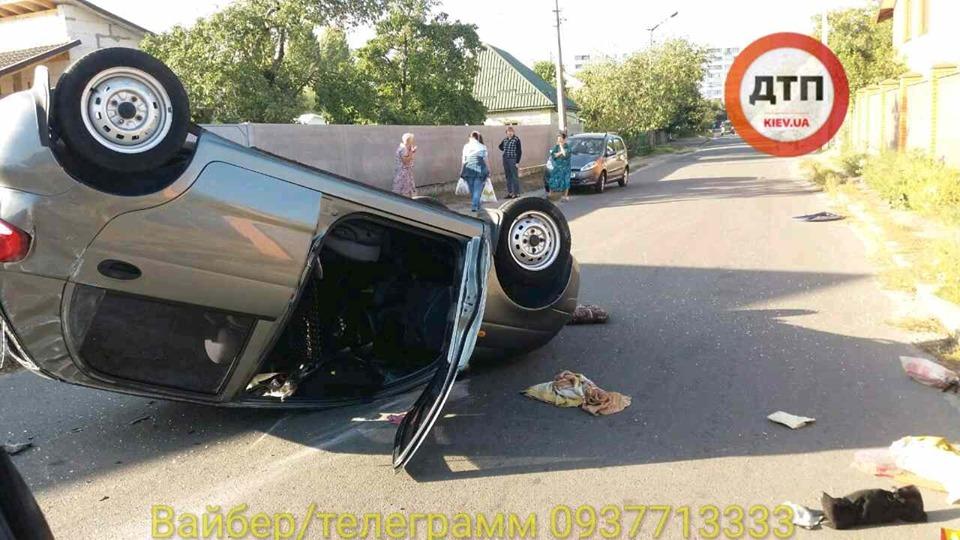 70395572_1424499594382596_1381428938873503744_n В Броварах сталася ДТП з перекиданням авто