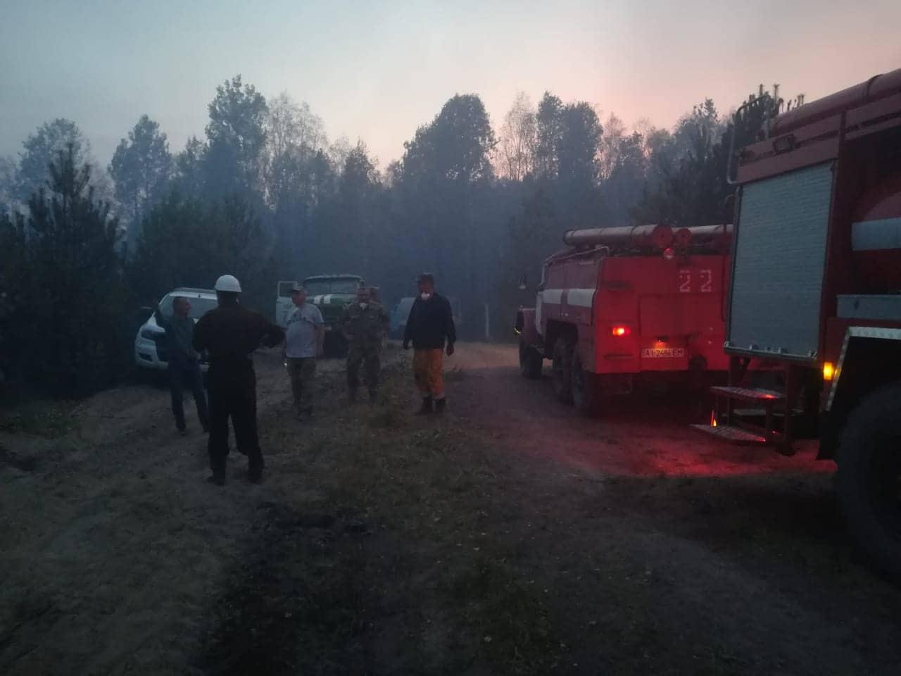 У гасінні лісу в Чорнобильській зоні задіяна авіація -  - 70508025 869857806748299 3261667850426777600 n