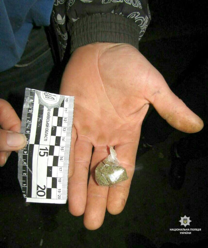Наркотичні речовини на вулицях Київщини: за добу 9 фактів