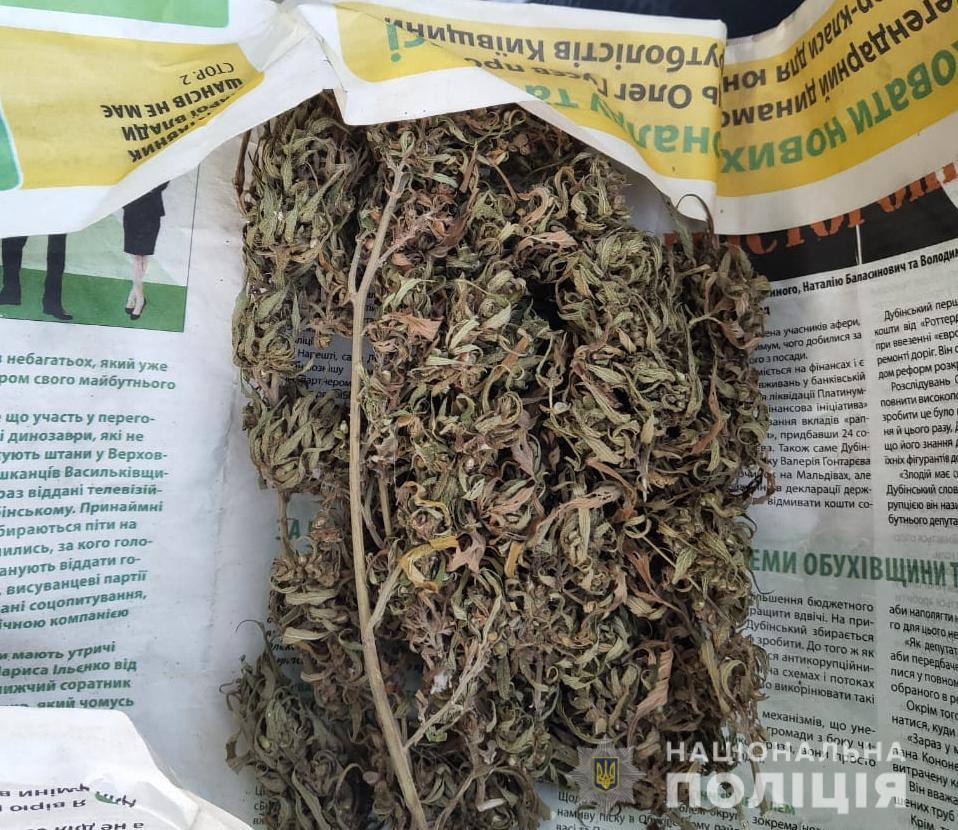 70689231_2483267481728409_5121609498158432256_n На Обухівщині викрили ділків, котрі незаконно зберігали наркотики