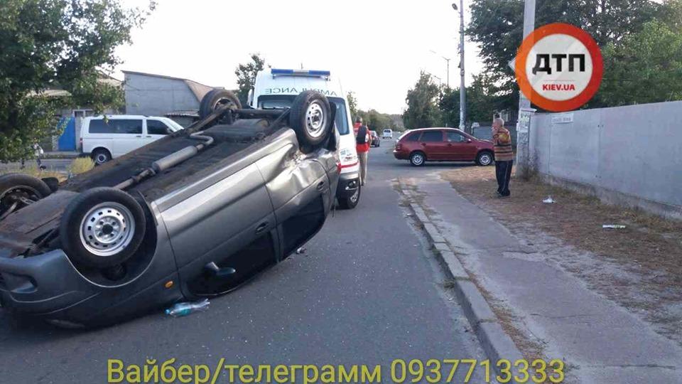 70896917_1424499921049230_8007716045194264576_n В Броварах сталася ДТП з перекиданням авто
