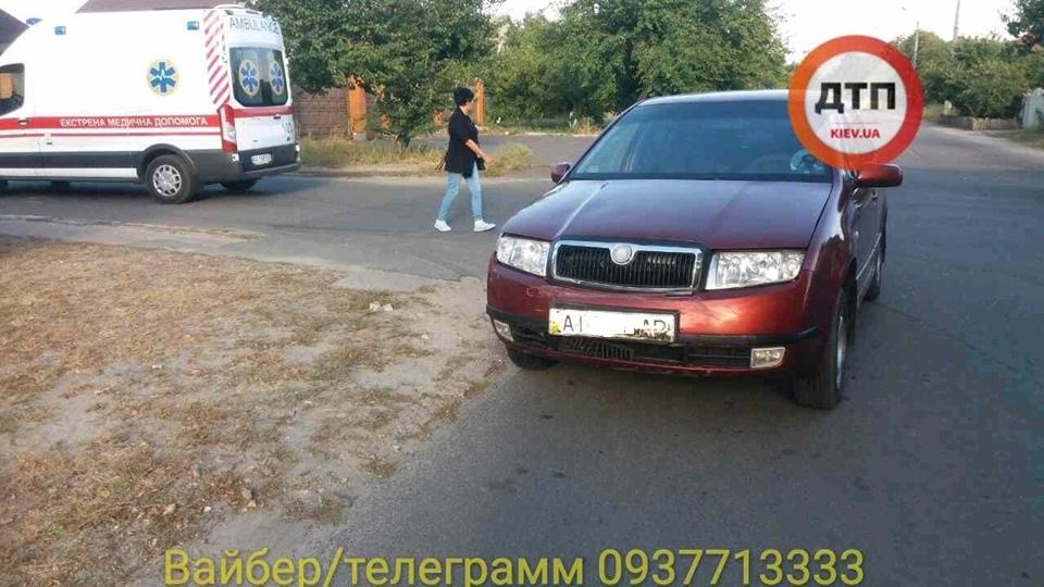 71146973_1424499764382579_7457614658237628416_n В Броварах сталася ДТП з перекиданням авто