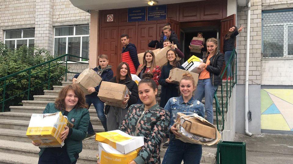 71330792_2711473892245235_6220790812884598784_n Васильківські школярі приєдналися до World Cleanup Day