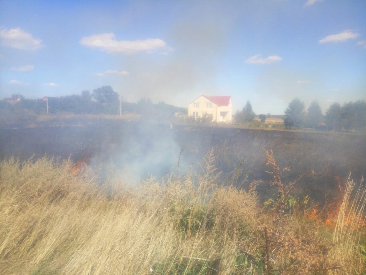 Пекельна Макарівщина: масово горіла трава та торф