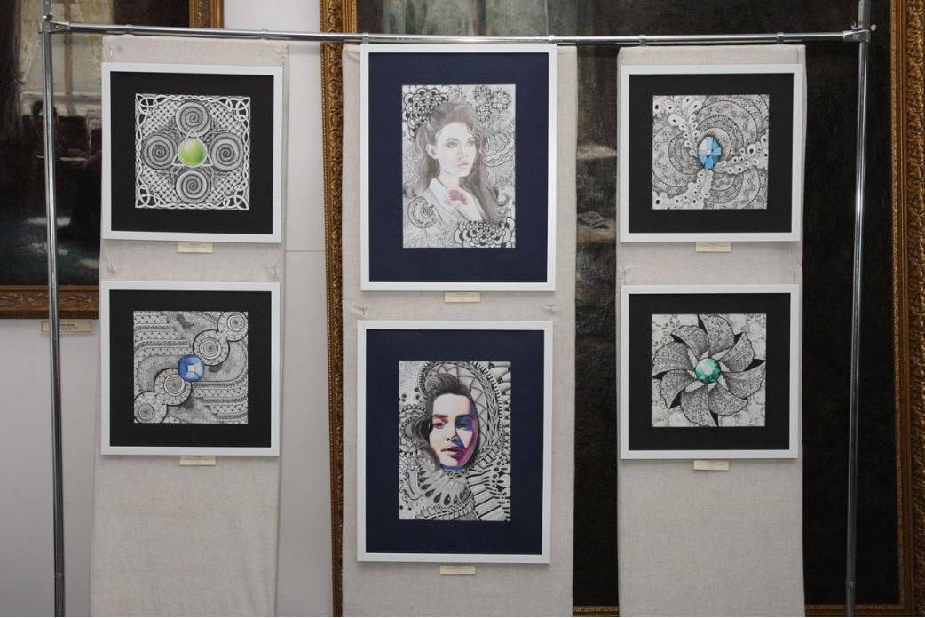 У Білоцерківському краєзнавчому музеї відкрилась виставка «Zentangling» - витставка, Білоцерківський краєзнавчий музей - Vystavka