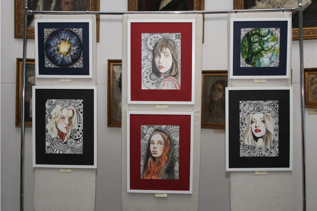 У Білоцерківському краєзнавчому музеї відкрилась виставка «Zentangling» - витставка, Білоцерківський краєзнавчий музей - Vystavka2