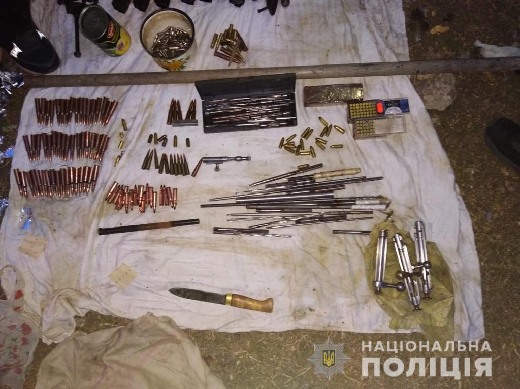 Домашню майстерню з виготовлення вогнепальної зброї викрили на Васильківщині