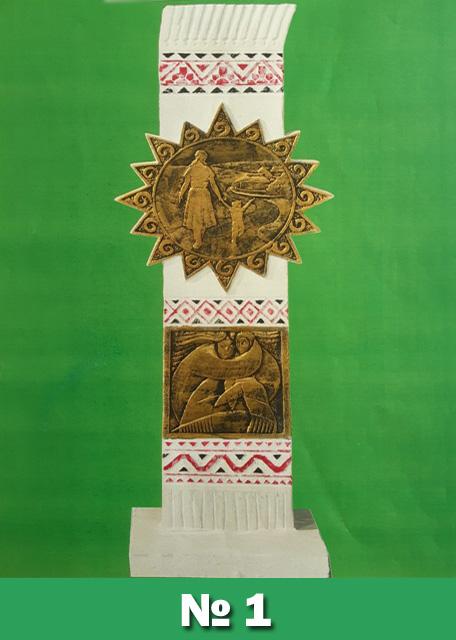 Мешканці Обухова розпочали електронне голосування за кращий  проєкт пам'ятника на Площу Матері -  - 1