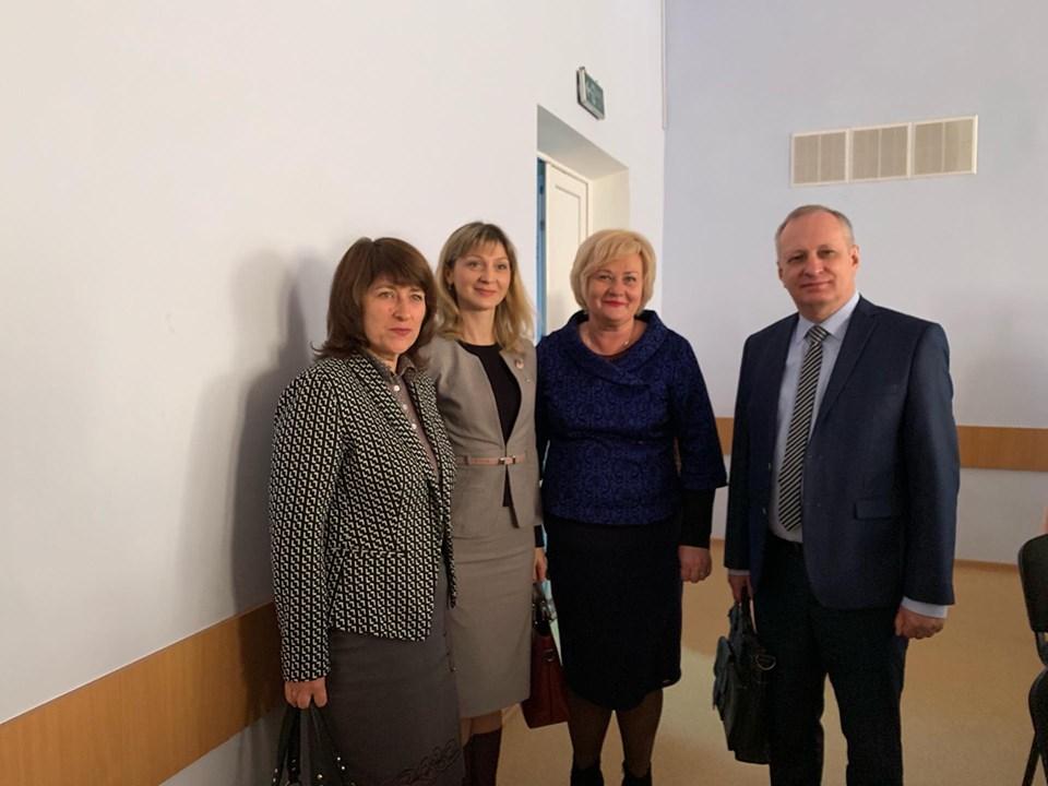 У Вишгороді радились директори шкіл Київщини - семінар, київщина, Вишгородський район - 1008 Seminar Int SHubko