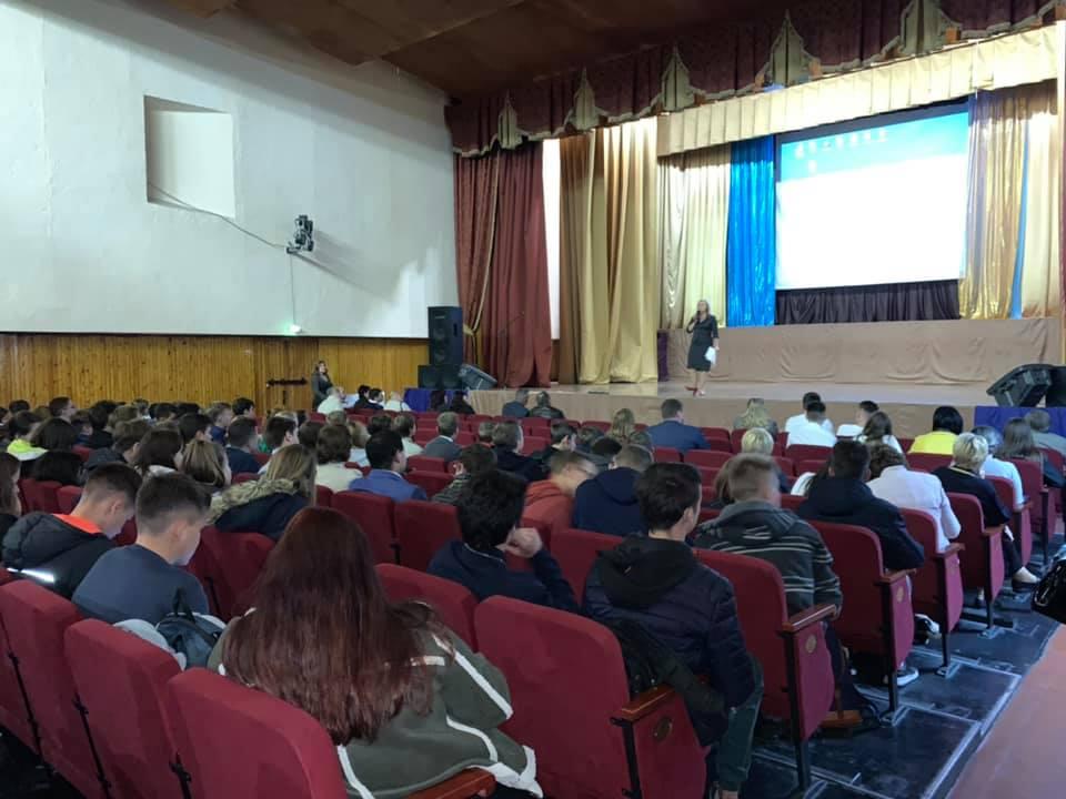 У Вишгороді відбувся День кар'єри - Київщина Вишгород - 1016 VYsh zal
