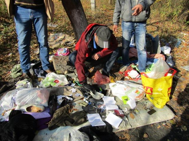Наркотики у Вишгородській лісосмузі - Поліція, наркотики, київщина, Вишгород - 1021 Kanabis lisosm1