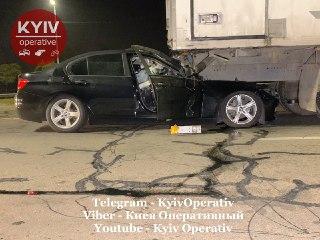 Серйозна аварія на Оболонському проспекті Києва - ДТП, BMW - 1022 avar1