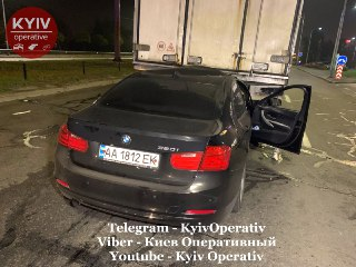 Серйозна аварія на Оболонському проспекті Києва - ДТП, BMW - 1022 avar2