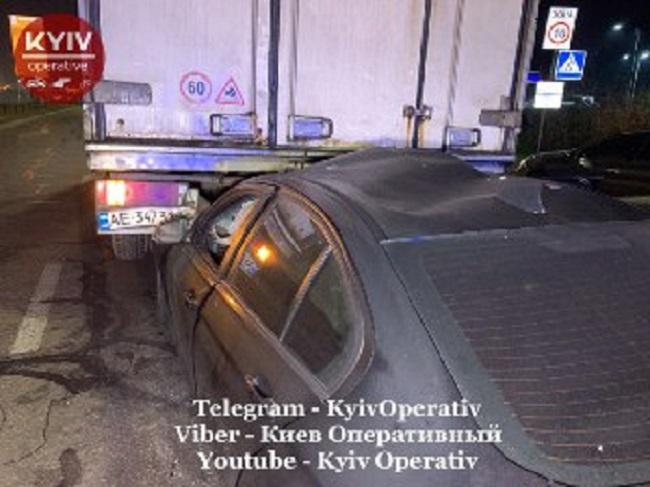 Серйозна аварія на Оболонському проспекті Києва - ДТП, BMW - 1022 avar4 ZB