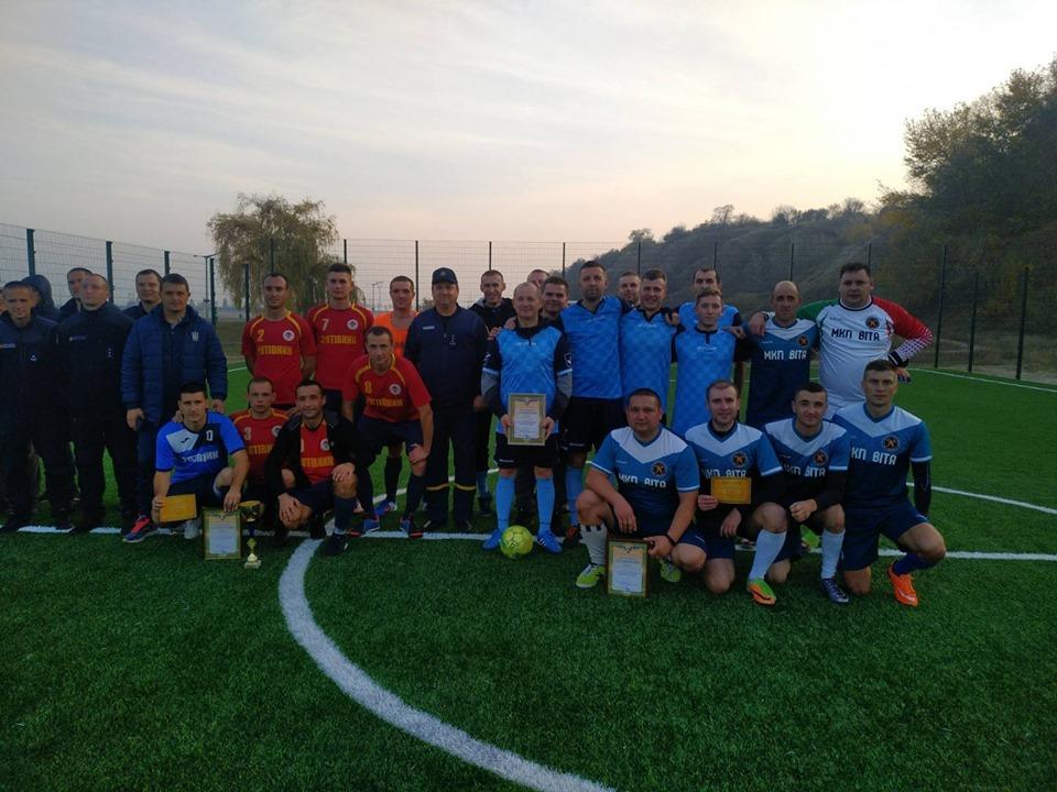 На Вишгородщині рятувальники Київщини провели турнір з міні-футболу - турнір, київщина, ДСНС, Вишгород - 1022 f1