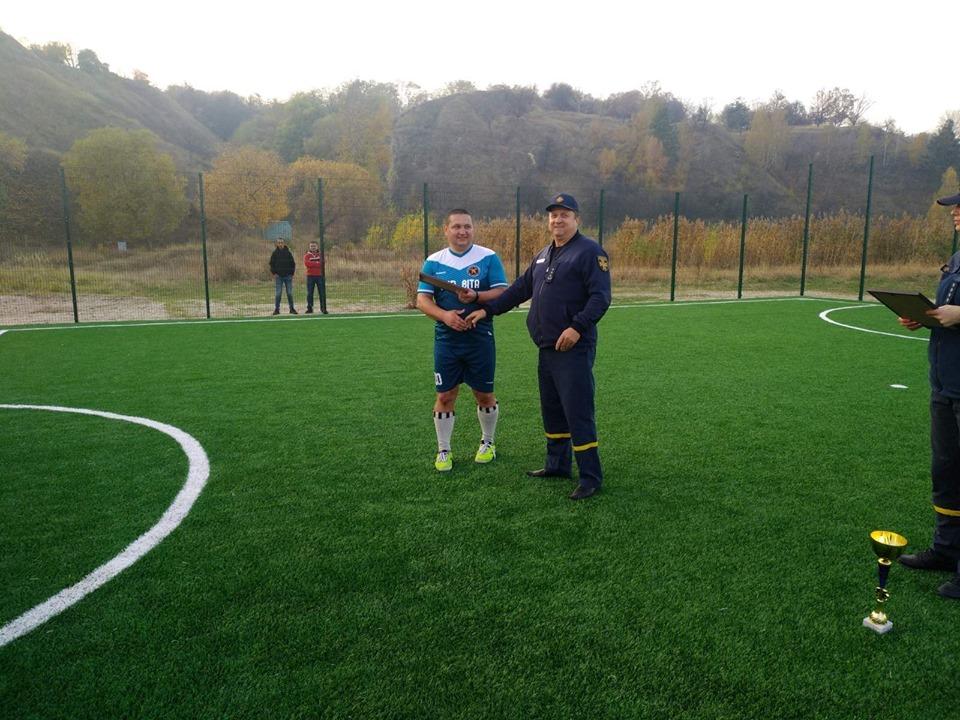 На Вишгородщині рятувальники Київщини провели турнір з міні-футболу - турнір, київщина, ДСНС, Вишгород - 1022 f6