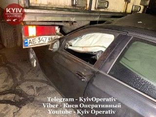 Серйозна аварія на Оболонському проспекті Києва - ДТП, BMW - 1023 avar3