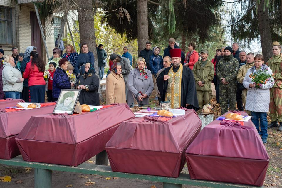 На Вишгородщині перепоховали  останки воїнів Другої світової - Литвинівка, київщина, Друга світова війна, Вишгородський район - 1029 Legion1 1