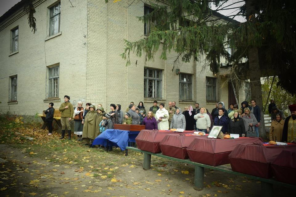 На Вишгородщині перепоховали  останки воїнів Другої світової - Литвинівка, київщина, Друга світова війна, Вишгородський район - 1029 Legion osn