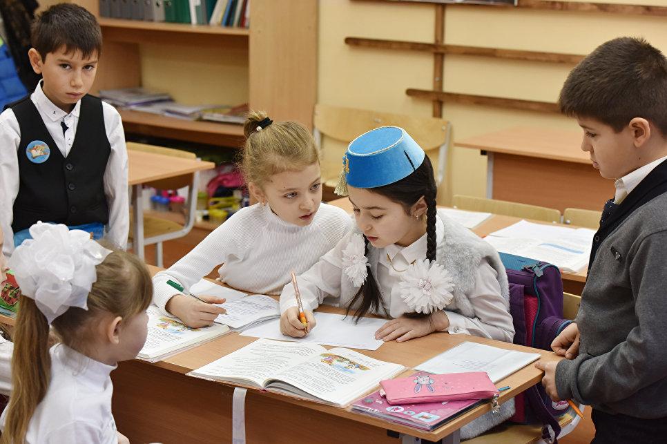 У столиці запрацювала школа з кримськотатарською мовою викладання -  - 1113252083
