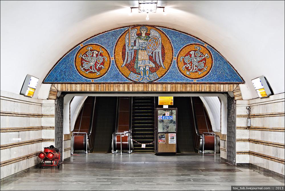 """Станцію метро """"Золоті ворота"""" закриватимуть на вхід -  - 115"""