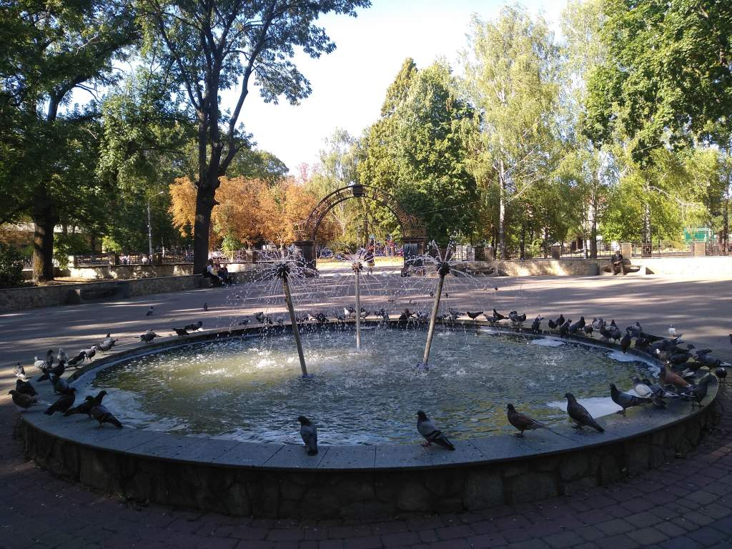 "У Кагарлику на зиму ""законсервували"" фонтан -  - 1756357098 big"
