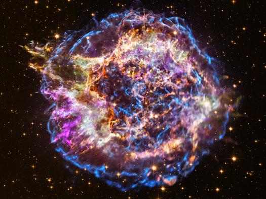 Вибух наднової: НАСА показали 13 років життя зірки (ВІДЕО) - наднова, зірка, NASA - 17 KASYOPEYA