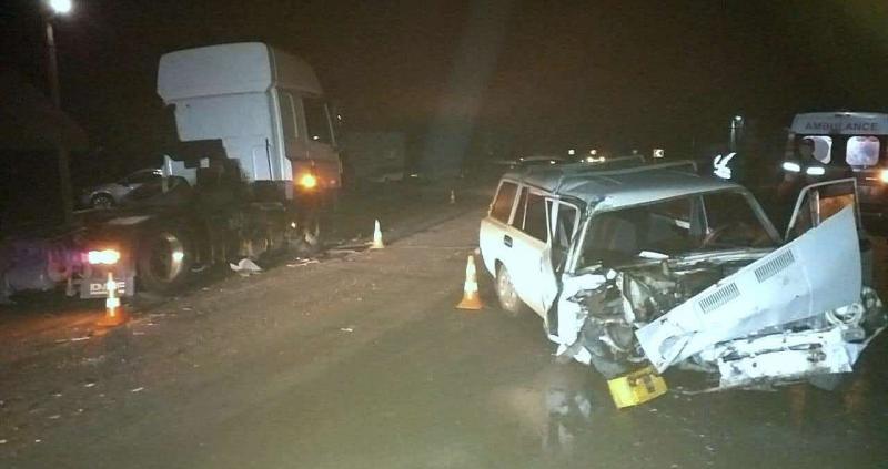 На Броварщині ВАЗ зіткнувся з вантажівкою «DAF»: є постраждалі (відео) -  - 20865