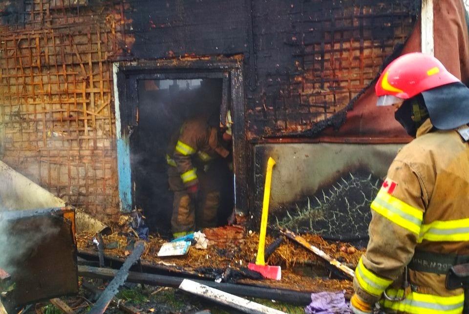 Через пожежу в житловому будинку на Київщині одна людина загинула, інша – отримала опіки - Бородянка - 28 pozhezha 1