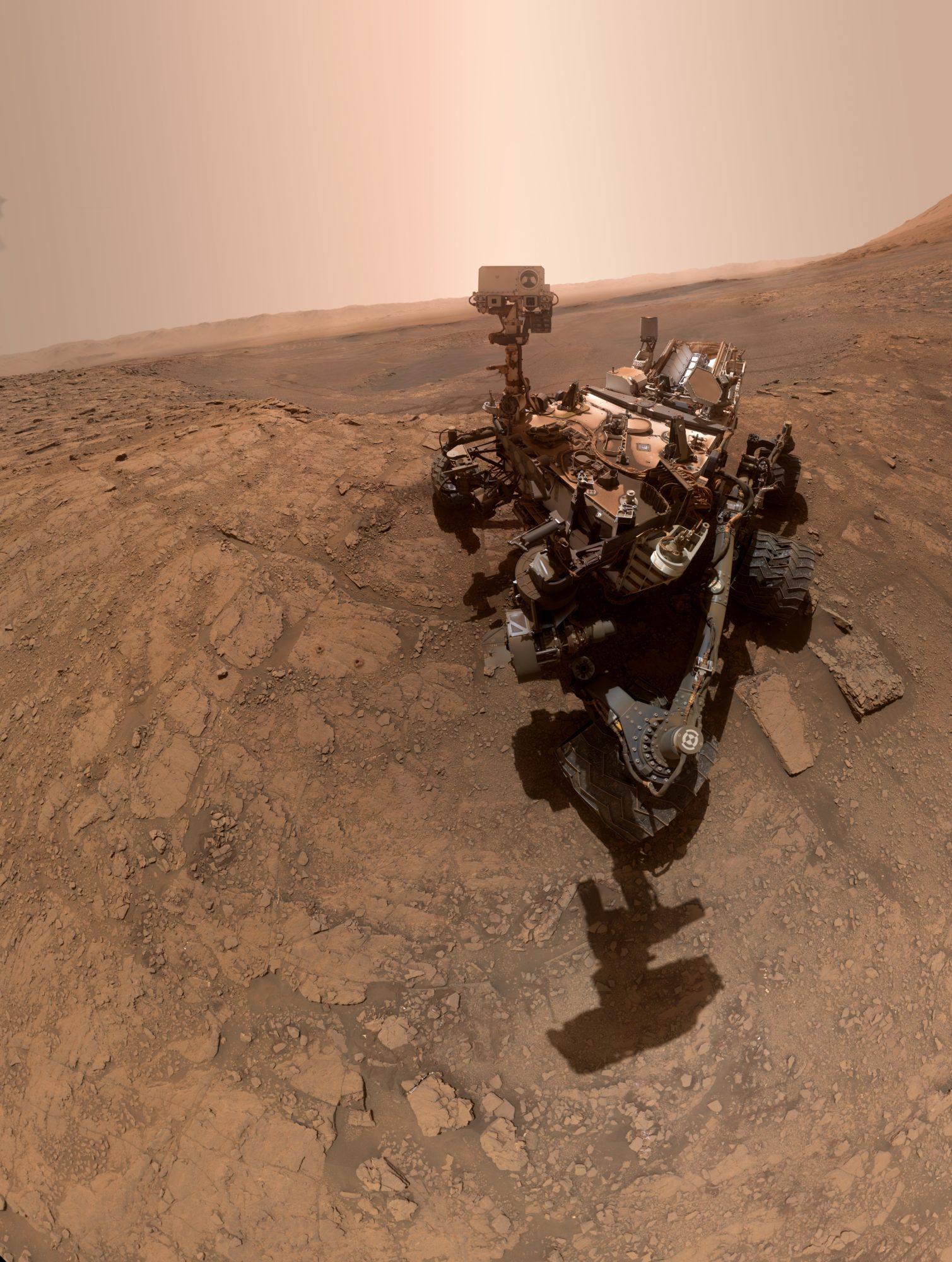 Curiosity надіслав нове селфі з Марса - Сонячна система, Марс - 29 mars2 1509x2000