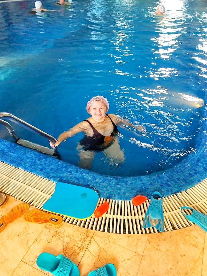 Плавання для «срібних» спортсменів Українки -  - 3CAEDEAF 4A59 4479 AB32 54CE37C39DCE