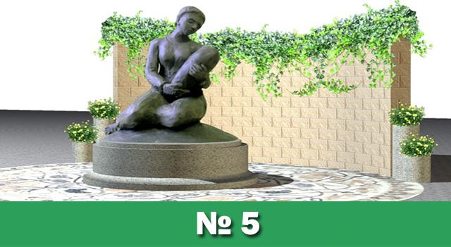 Мешканці Обухова розпочали електронне голосування за кращий  проєкт пам'ятника на Площу Матері -  - 5