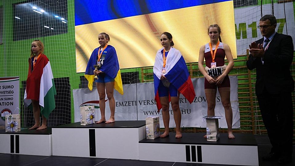 Сумоїстка з Київщини - чемпіонка Європи -  - 71487450 2150326811941942 2597355427574317056 n