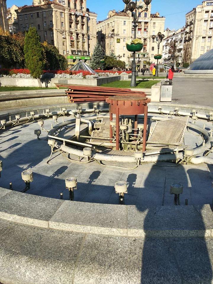 """Фонтани на Майдані підготували до """"зимівлі"""" -  - 71786850 1742170009260929 2149700680053424128 n"""