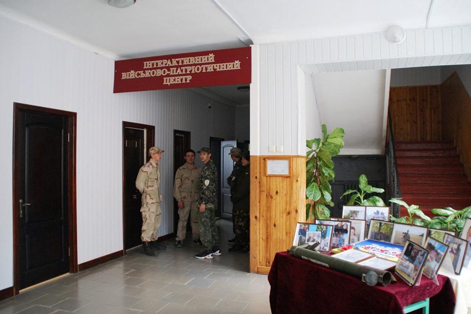 У бориспільському ліцеї відкрився військово-патріотичний центр -  - 71894243 2378398792282333 1325777170718523392 n