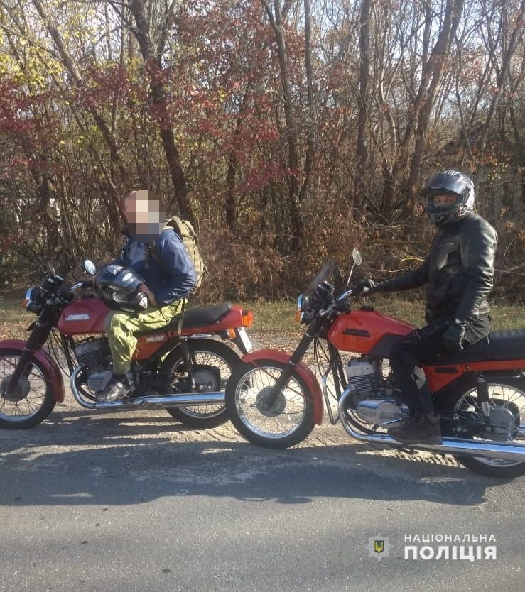 5 мотоциклістів намагалися потрапити до зони ЧАЕС -  - 72177432 2531294946925662 2799070254553104384 n