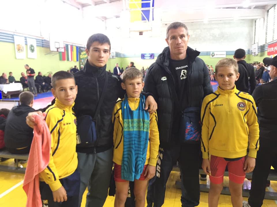 Юні борці з Миронівки - бронзові призери міжнародного турніру -  - 72193950 527908567997616 1756392825198477312 n