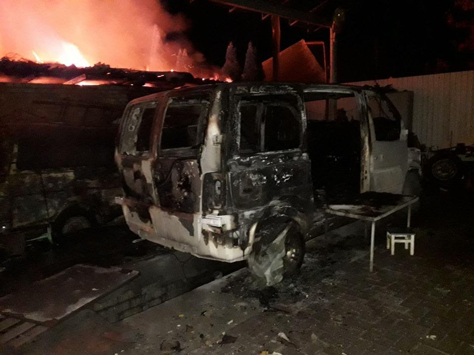 У Броварах згорів будинок і дві автівки -  - 72325885 1394882717328637 1545298098882871296 n