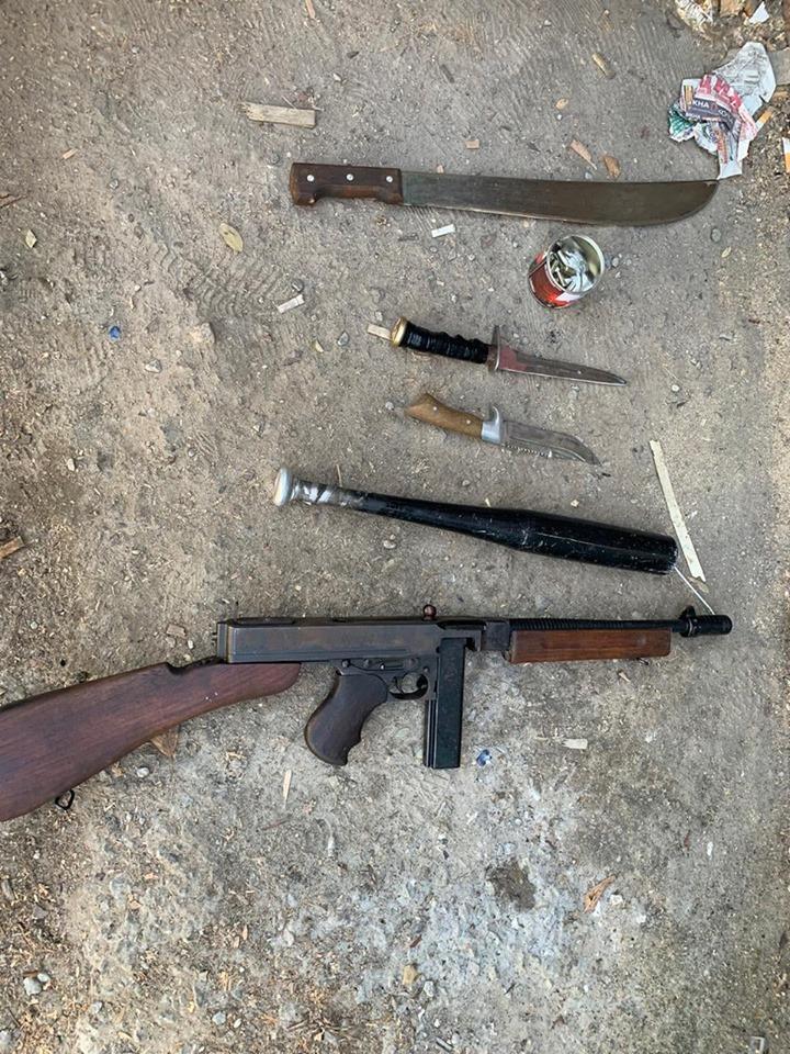 У гаражі обухівчанина знайшли зброю та наркотики -  - 72550992 1912355585575309 444590898240552960 n