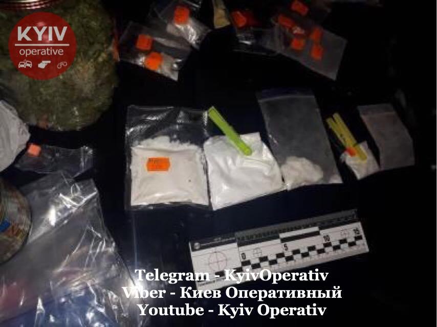 Наркотичний «улов» столичних правоохоронців -  - 72581454 822105041518917 7037186807917707264 n