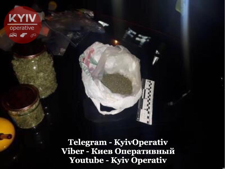 Наркотичний «улов» столичних правоохоронців -  - 72614679 822104924852262 8932804137637117952 n