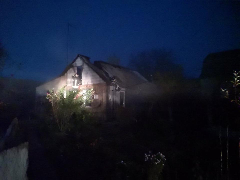 У Фастові горів будинок: загорілось перекриття - Фастів, пожежа, ДСНС - 72786962 2394075394043885 8412737684614676480 n