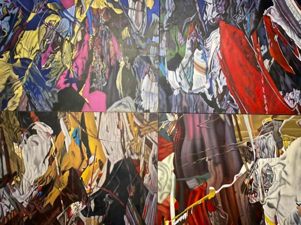 В столиці відкрилася виставка картин «українського Пікассо» - Івана Марчука. -  - 73142999 2662654720451884 7200962981885116416 n